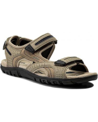 Żółte sandały na lato Geox