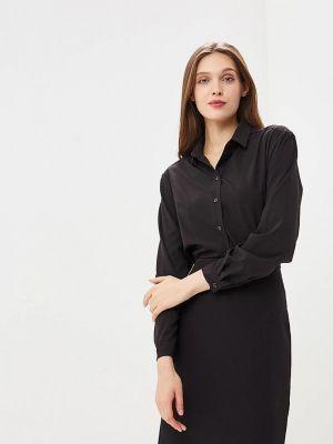 Блузка с длинным рукавом весенний черная Ruxara