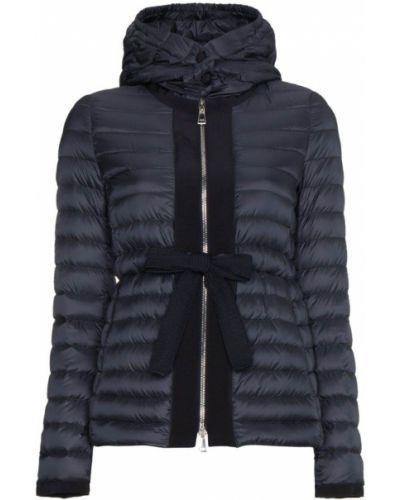 Куртка с капюшоном длинная прямая двухсторонняя Moncler