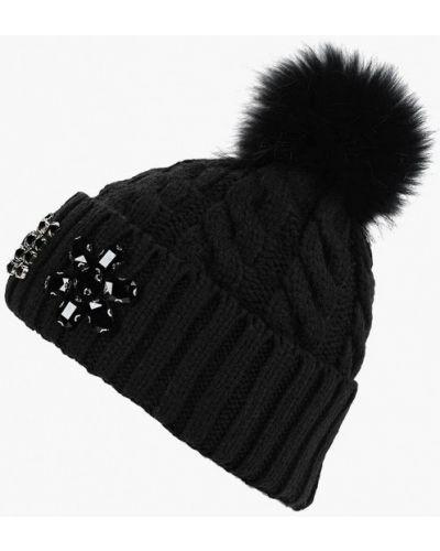 Черная шапка осенняя Vitacci