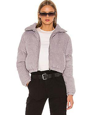 Дутая куртка вельветовая на молнии Superdown