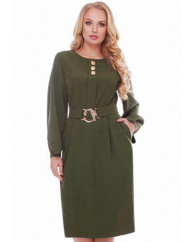 Платье хаки Vlavi