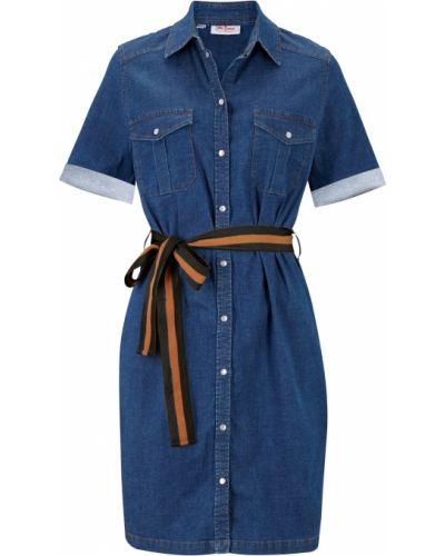 Джинсовое платье стрейч Bonprix