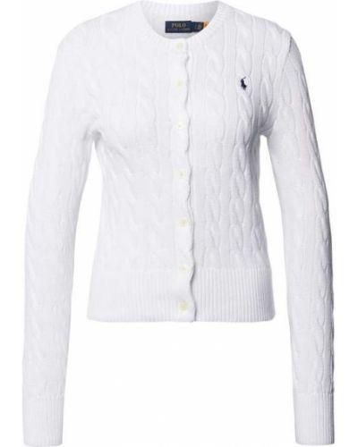 Biały sweter bawełniany Polo Ralph Lauren