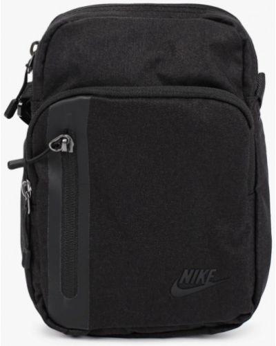 Текстильная черная сумка Nike