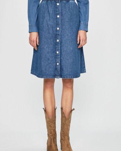 Юбка миди джинсовая с завышенной талией Levi's®