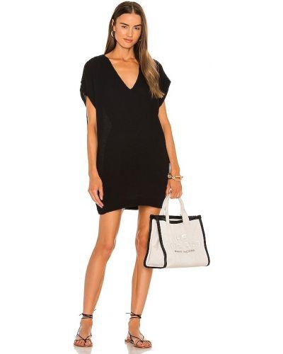 Хлопковое платье - черное Yfb Clothing