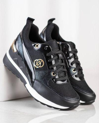 Czarne buty sportowe casual Evento