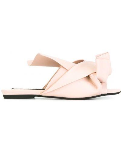 Бежевые сандалии N21