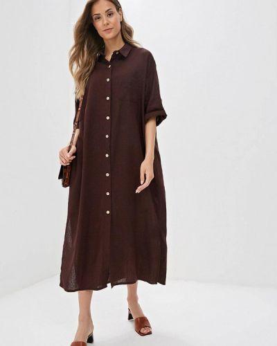 Платье - коричневое Nastasia Sabio