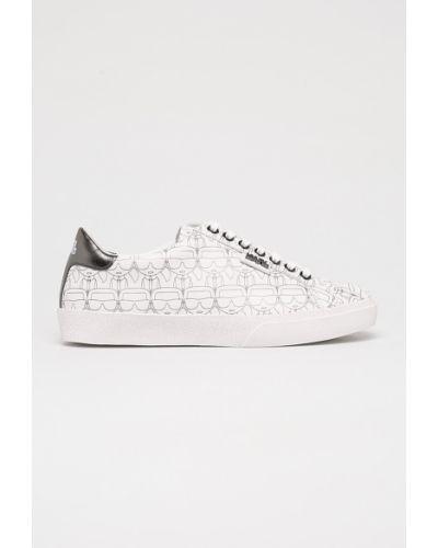 Кроссовки текстильные на шнуровке Karl Lagerfeld