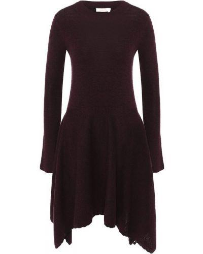 Платье с вырезом шерстяное See By Chloé