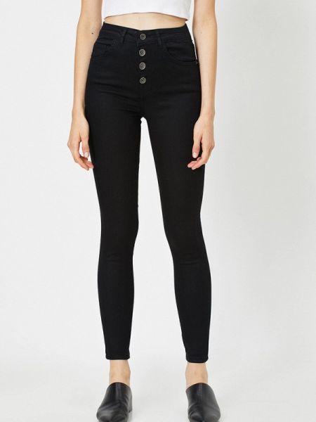 Черные джинсы-скинни узкого кроя Koton