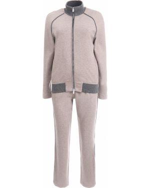 Кашемировый костюм - бежевый Capobianco