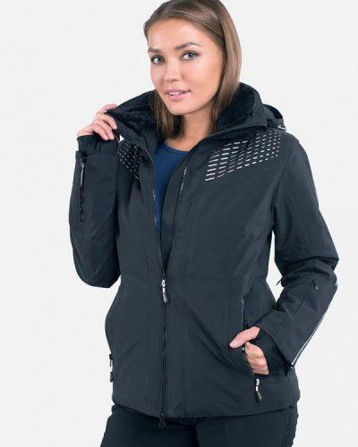 Черная куртка горнолыжная Avecs