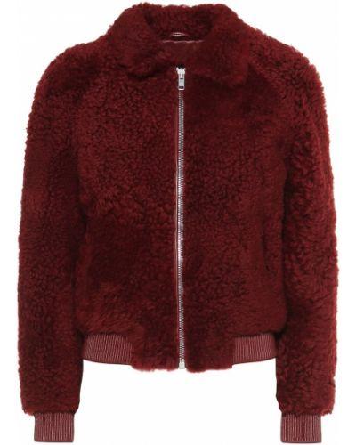 Кожаная куртка плюшевая классическая Isabel Marant