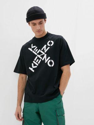 Футболка - черная Kenzo