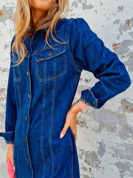 Платье - синее Lee