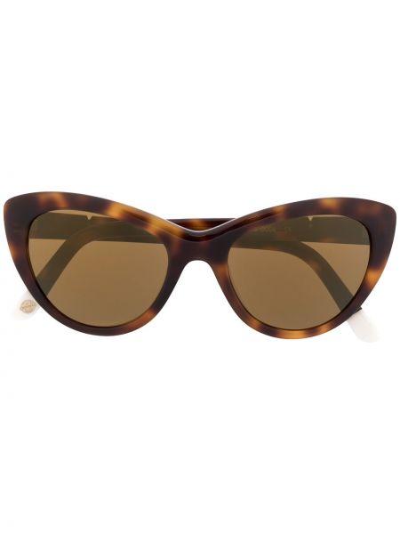 Муслиновые коричневые солнцезащитные очки Vuarnet