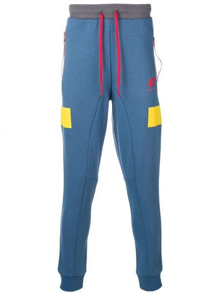 Хлопковые синие брюки Damir Doma