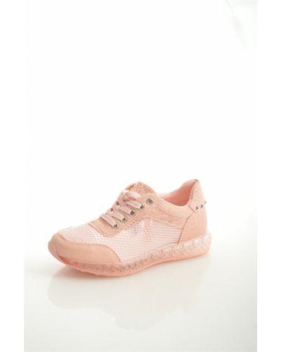 Кроссовки розовый Chezoliny