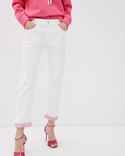 Белые джинсы-скинни узкого кроя Replay
