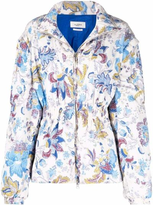 Белая куртка на шпильке Isabel Marant étoile