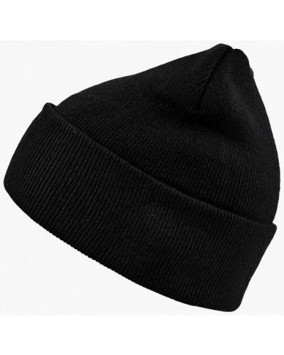 Черная шапка осенняя Modis