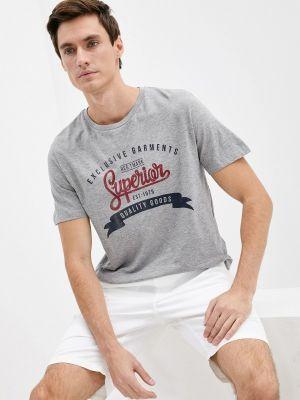 Серая футболка с короткими рукавами Produkt