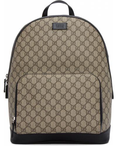 Кожаный рюкзак - черный Gucci