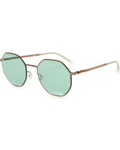 Бирюзовые солнцезащитные очки Mykita