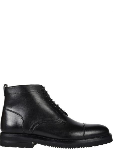 Кожаные ботинки - черные Franceschetti