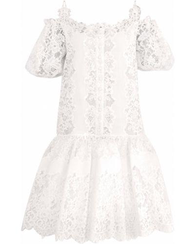 Платье мини в стиле бохо на бретелях Ermanno Scervino