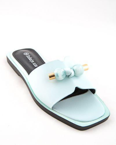 Синие туфли из искусственной кожи Stefaniya Nina