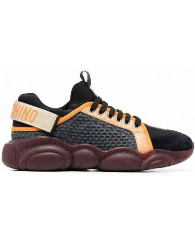 Sneakersy - brązowe Moschino