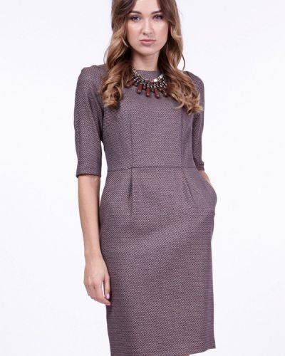Коричневое платье Vladi Collection