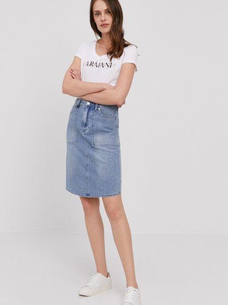 Джинсовая юбка Armani Exchange