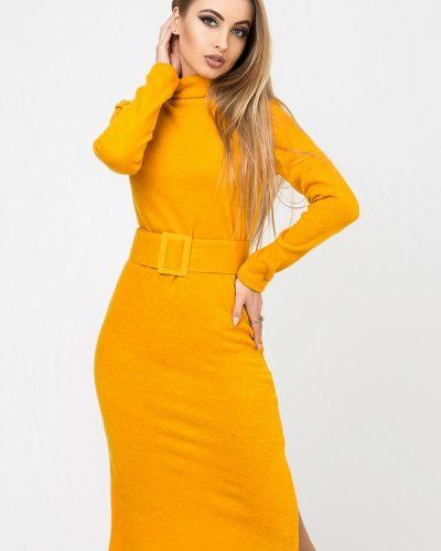 Платье - желтое Leo Pride