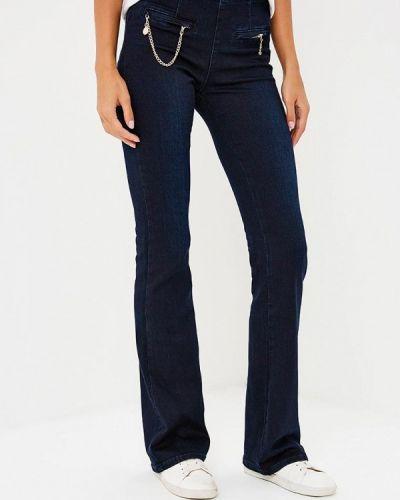 Широкие джинсы расклешенные синие Gaudi