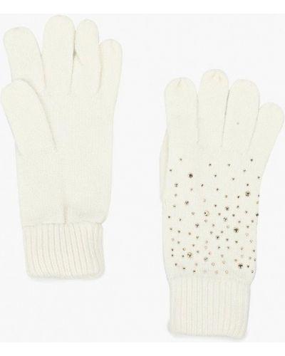 Белые перчатки текстильные Sela