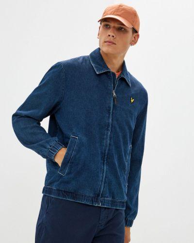 Синяя джинсовая куртка Lyle & Scott