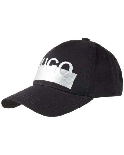 Bawełna bawełna czarny czapka baseballowa Hugo
