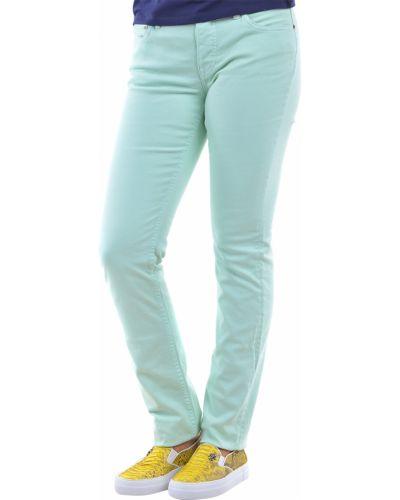 Зеленые брюки хлопковые Ralph Lauren