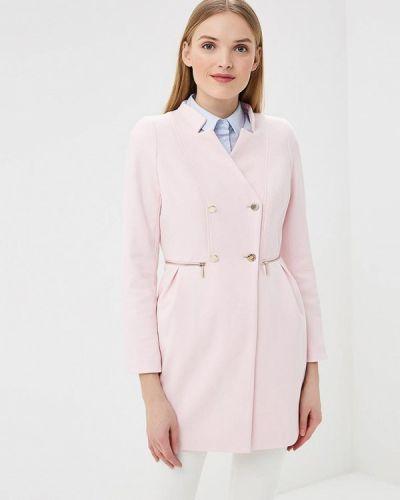 Розовое пальто весеннее Love Republic