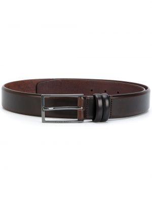 Кожаный ремень - коричневый Boss Hugo Boss