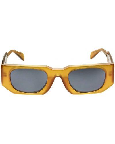 Pomarańczowe okulary Kuboraum Berlin