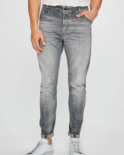 Прямые джинсы с завышенной талией на пуговицах G-star Raw