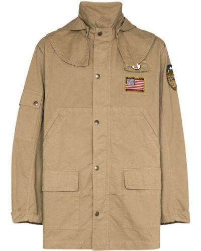 Ватная хлопковая бежевая куртка Phipps