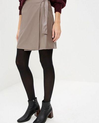 Кожаная юбка Burlo