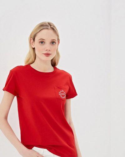 Красная футболка 2019 Karl Lagerfeld